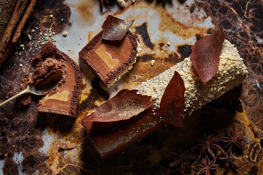 Xmas yule log Ecl1pse / Callebaut