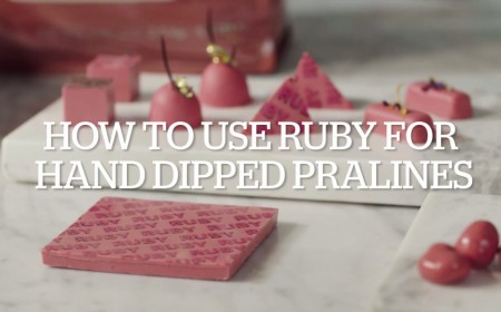 Embedded thumbnail for How to work with ruby RB1 - Hand dipped pralines