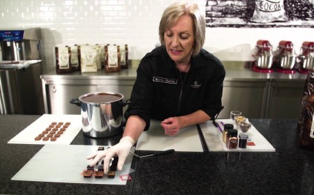 Embedded thumbnail for Hand-dipped chocolates - possibilities